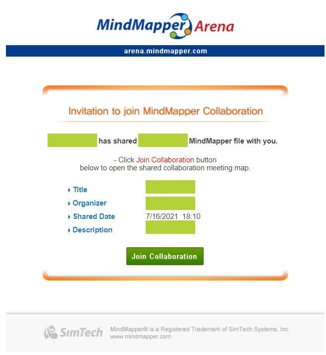 Collaboration Invite Email