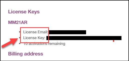 License Keys-Set